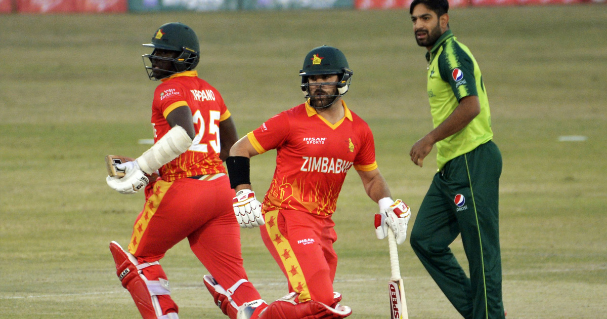 Zimbabwe left to fight for consolation as Pakistan seal T20I series