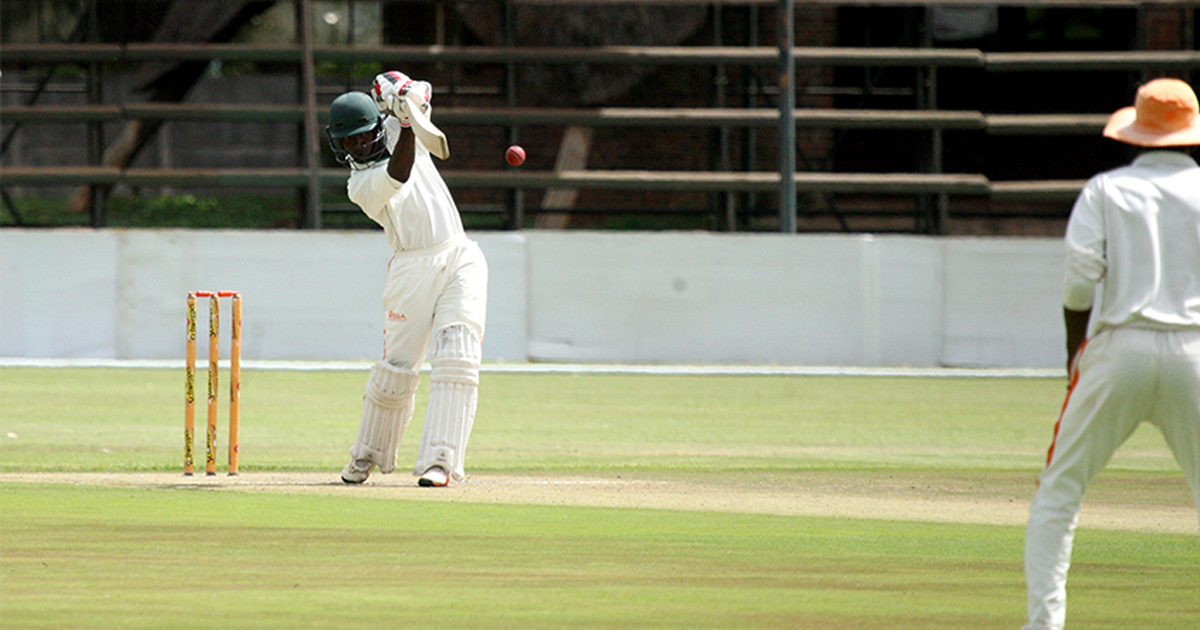 Kasuza's half-century stands out on Logan Cup opening day
