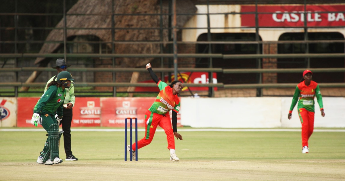 Zimbabwe go down to Pakistan in women's first one-dayer