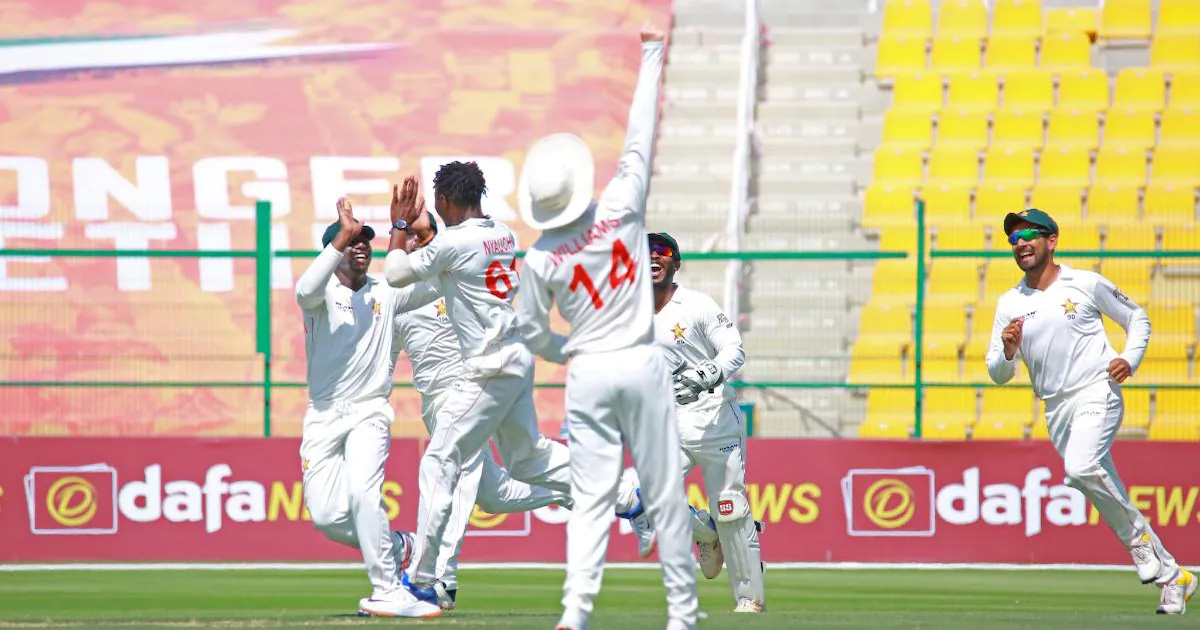 Zimbabwe crush Afghanistan inside two days in first Test