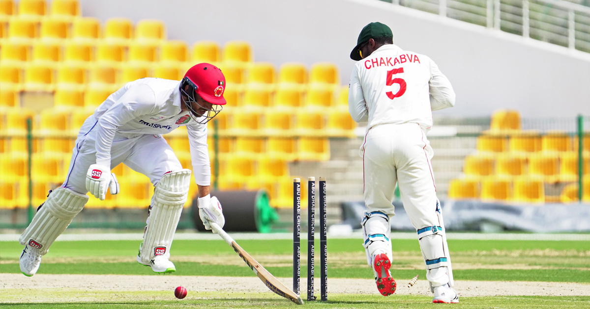 Afghanistan take opening day honours in second Test