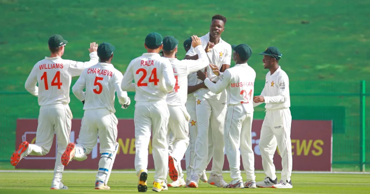 Zimbabwe skittle Afghanistan for 131 as first Test gets underway