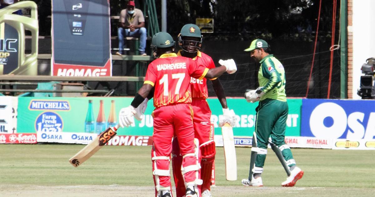 Madhevere hits fifty but spirited Zimbabwe fail to stop Pakistan