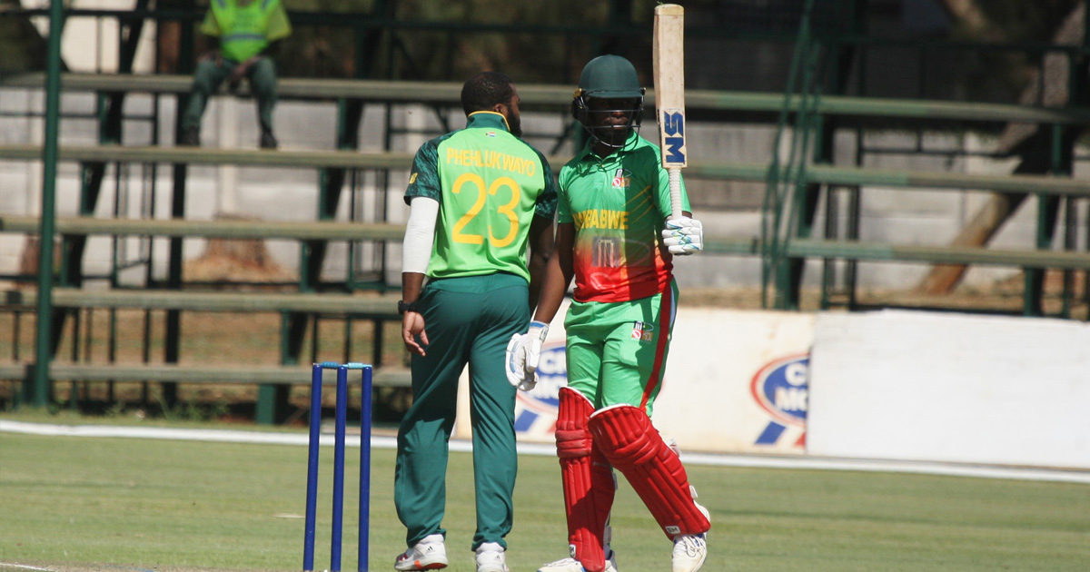 Myers, Marumani light up first one-dayer before SA 'A' prevail