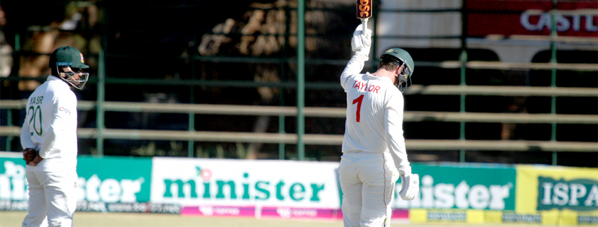Brendan Taylor reached his half-century off just 33 deliveries, matching Andy Blignaut's effort against Pakistan in 2002.