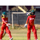 Nomvelo Sibanda however showed nerves of steel to hit a boundary that sealed victory for Zimbabwe Women with three balls to spare.