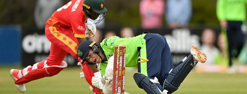 They finished the innings without further loss, a total of 152 for five wickets and a partnership of 88 in just under 10 overs.