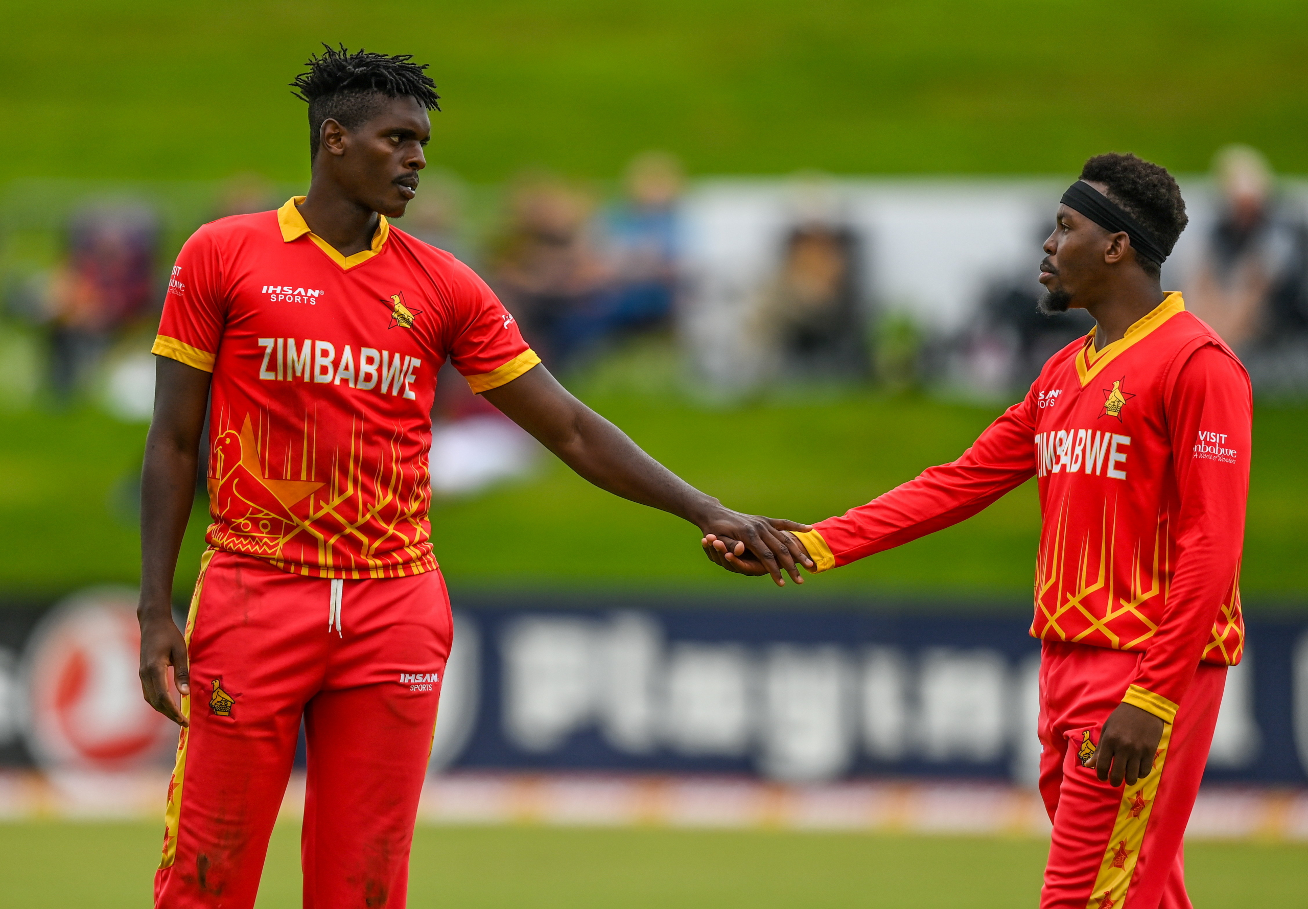 The most successful bowler was Masakadza, who took two for 22 off his four overs, while Ngarava and Jongwe took a wicket each.