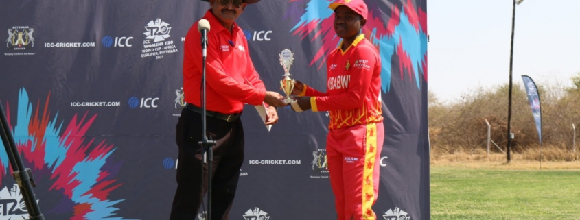 Tshuma finished with the impressive figures of four wickets for 11 runs off her four overs, a performance that duly earned her the player of the match accolade.