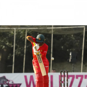 Milton Shumba's valiant effort with the bat went in vain as Zimbabwe fell at the hands of Scotland