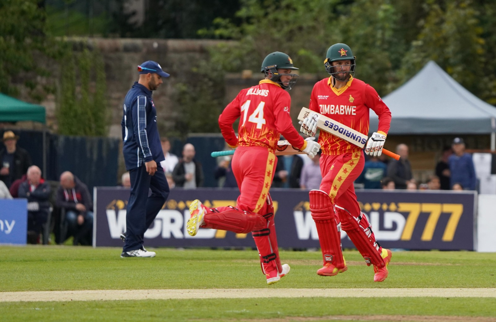 Williams finished unbeaten with 60, scored off 52 balls with five fours and a six