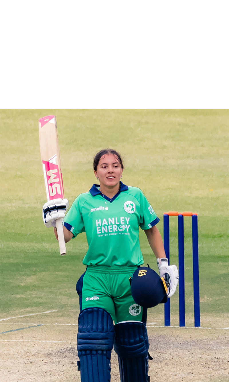 Ireland Women batter Amy Hunter became the world's youngest player to score an ODI century, hitting 121 not out on her 16th birthday