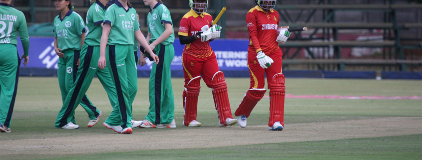 A magnificent 70 not out from Josephine Nkomo, scored off 86 balls with seven fours, when the innings closed at 50 overs.