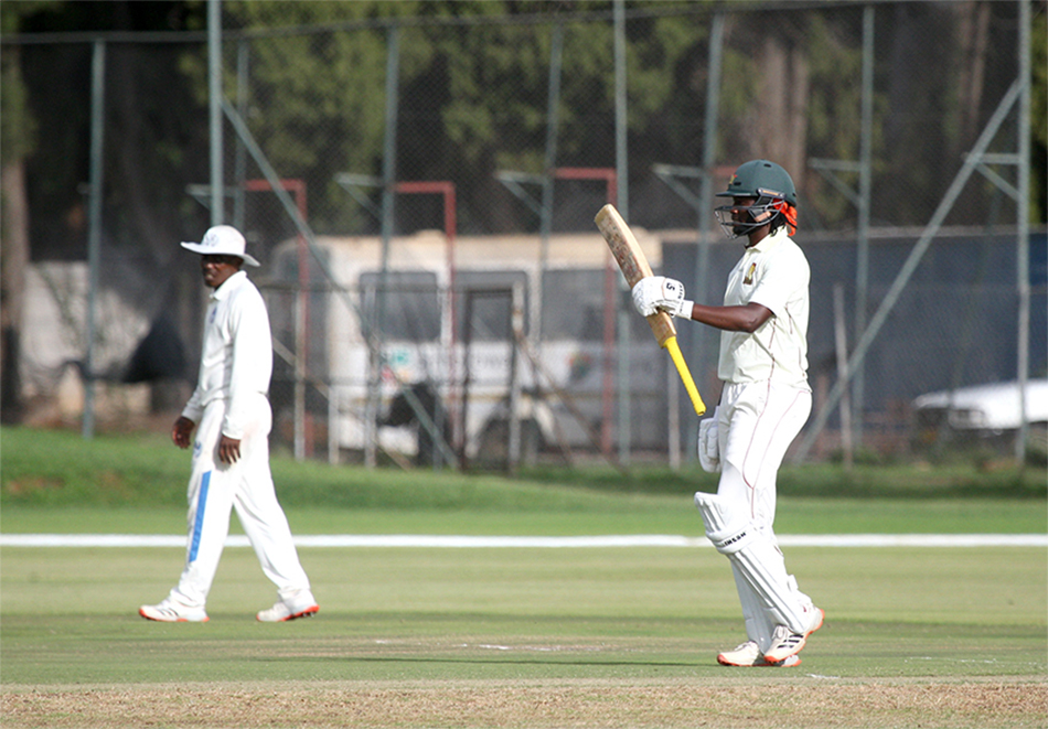 Mutumbami reached his century off 138 balls and was still good for more, while Kaia played an excellent supporting role.